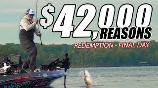 $42,000 Reasons to WIN - Road to the Classic Ep.17 Bassmaster Lake Hartwell Championship Friday