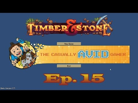 Finishing the North Wall - Timber & Stone - Ep. 15
