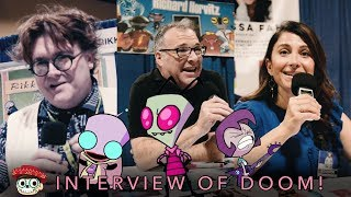 We interviewed Zim, GIR and Gaz's actors at Long Beach Comic Con 2019!