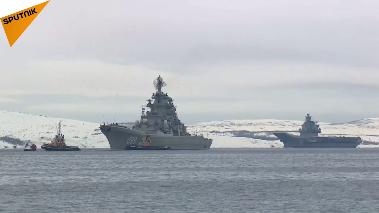 Russian Admiral Kuzsov Aircraft Carrier Returns Home After Syria Mission