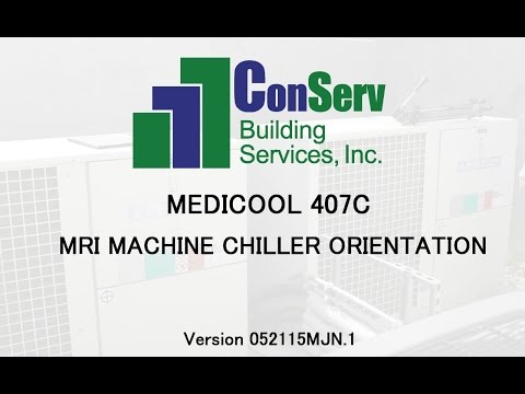 Orientation video on MEDICOOL 410C MRI Chillers