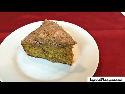 Pumpkin Cinnamon Streusel Coffee Cake - Lynn's Recipes