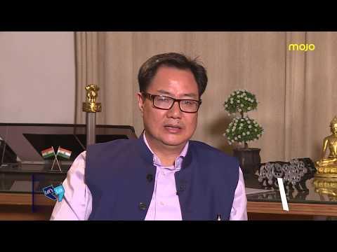 """BJP Pan-India Now""; Kiren Rijiju to Barkha Dutt"