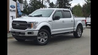 2018 Ford F-150 Leveled XLT FX4 Sport V8 SuperCrew Review| Island Ford