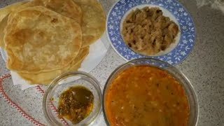 AALO bhaji poori recipe  cooknenjoylife @ samee cooking recipes