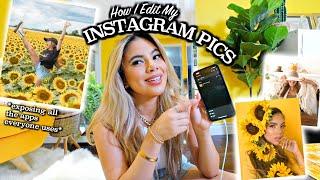How I Edit My Instagram Pics (Exposing all my friends secrets)