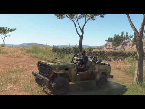 MGS V - free roam DD wetwork: into Zaire, Bampeve plantation