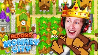 The PERFECT Upgrade Path!? (Bloons Monkey City)