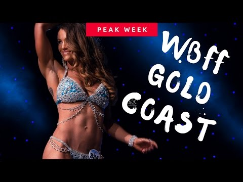 PEAK WEEK + SHOW DAY - WBFF Gold Coast Australia