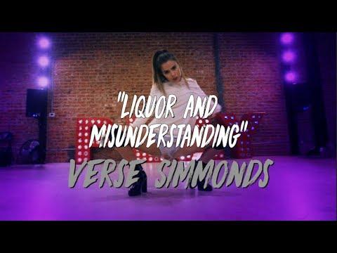 "Verse Simmonds  ""Liquor and Misunderstanding""  Nicole Kirkland Choreography"