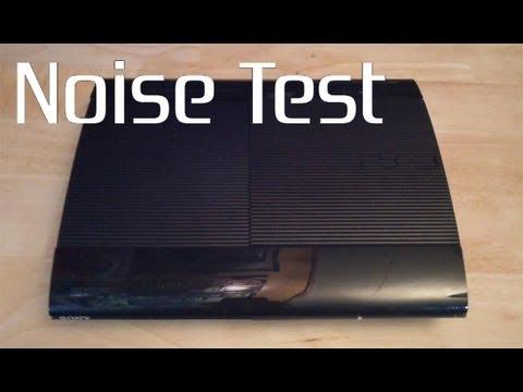 Super Slim PS3 Noise Test/Comparison