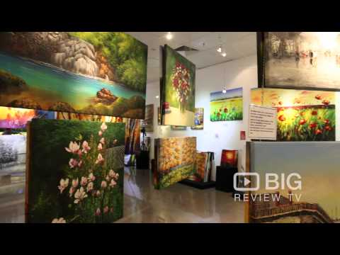 Decor Dreams an Art Gallery in Adelaide exhibits Oil Painting