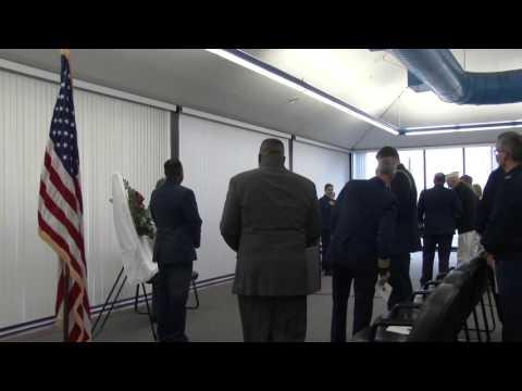 Pearl Harbor Survivors Coast Guard Base Alameda Pearl Harbor Day Remembrance 07DEC2015 part 4
