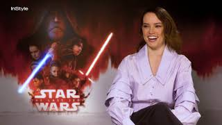 Is Star Wars' Daisy Ridley A Real Life Jedi? YES! And Talks Adam Driver's Body!