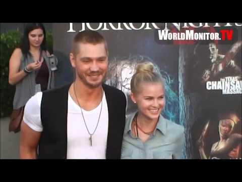Chad Michael Murray & Kenzie Dalton  Le 21 Septembre 2012  Horror Nights Eyegore Awards