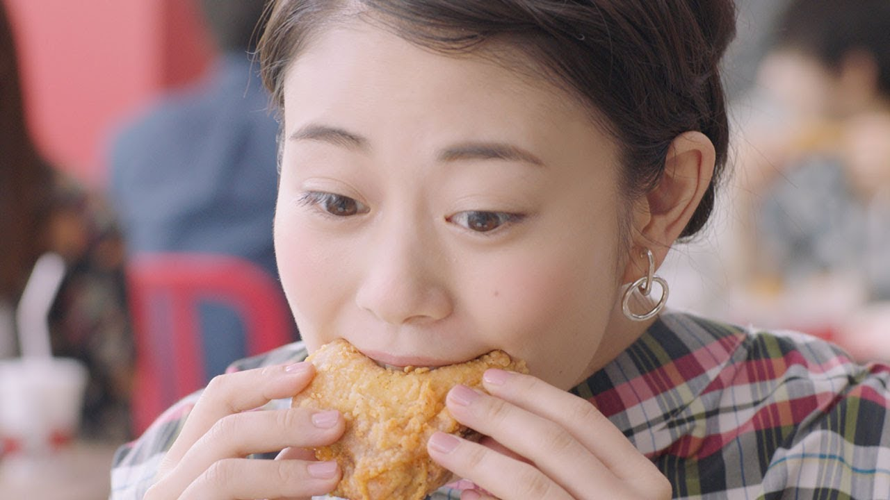 高畑充希、おいしそうにチキンをほおばる ケンタッキーフライドチキン「創業記念パック」CM&「レッドホットチキン」CM&メイキング映像