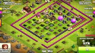 Clash of Clans- Recap of Raid over 1MIL in Resources. WHAT A RAID!!