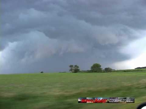 June 26th 2010 Tornadic South Dakota Supercell and Iowa Shelf Cloud