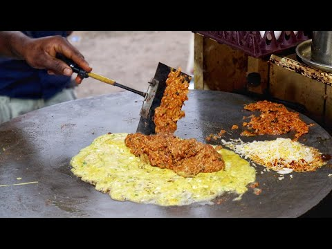Road Side Delicious Egg Fish Curry | Amazing Cooking Skill | Egg Street Food | Indian Street Food