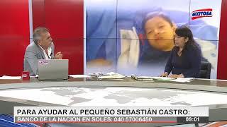 Niño de 4 años necesita vacuna Cimaher de Cuba para detener crecimiento de tumor en el tronco
