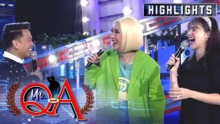 Anne laughs hard after Vice mocked Jhong | It's Showtime Mr. Q and A