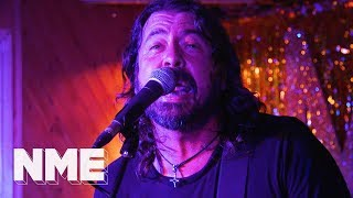 Dave Grohl + Rick Astley play the Club NME relaunch in London