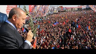 Cumhurbaşkanı Erdoğan, Sakarya'da halka hitap etti
