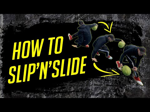 Slip And Slide | Streetball & Freestyle Basketball Tutorial By Kirill Fire