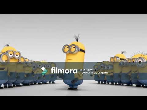 Minions Dancing To Harry And His Bucketful Of Dinosaurs Theme Song