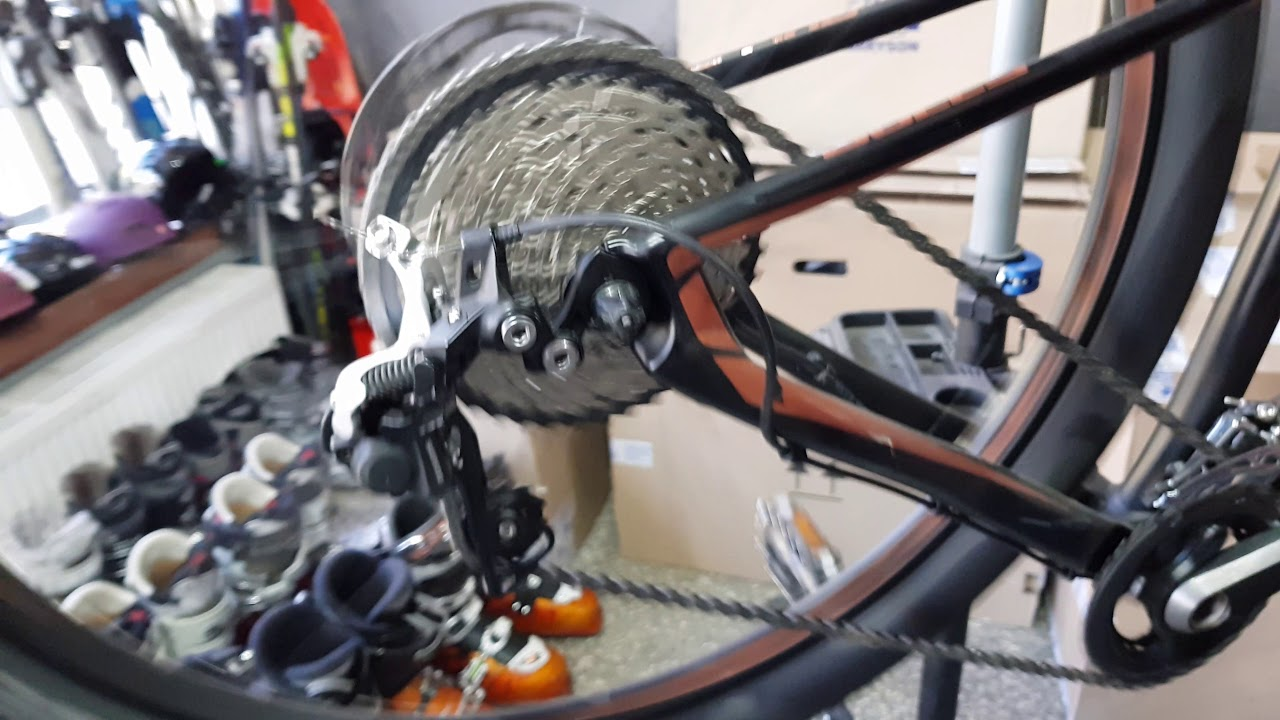 running 10 speed derailleur with 11 speed cassette