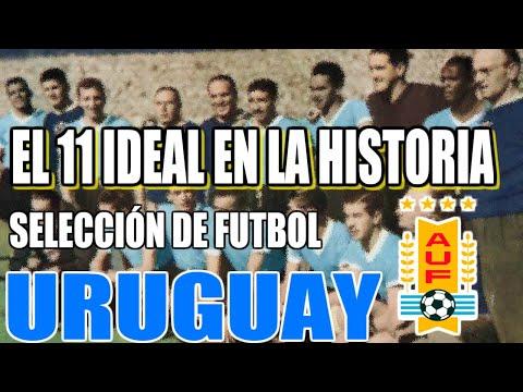 el-11-ideal-en-la-historia-de-la-selecciÓn-de-fÚtbol-de-uruguay