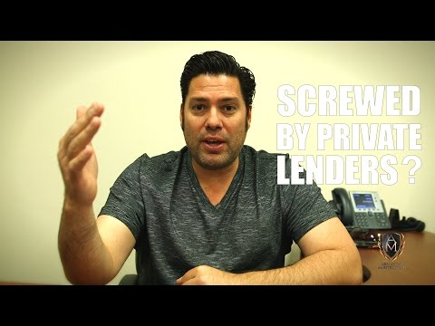 4 Ways Not To Get Screwed By Private Lenders