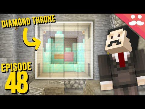 Hermitcraft 7: Episode 48 - STOLE THE DIAMOND THRONE - Видео онлайн