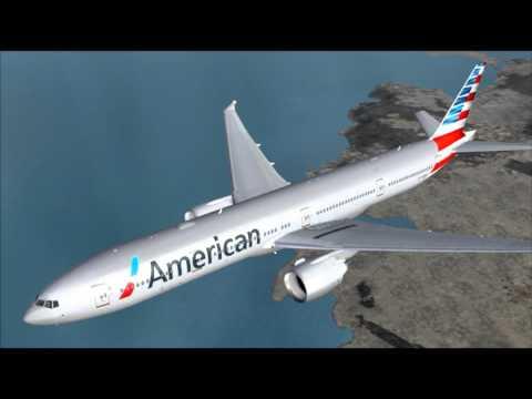 AA39 777-300ER AMERICAN AIRLINES LONDON HEATHROW - MIAMI
