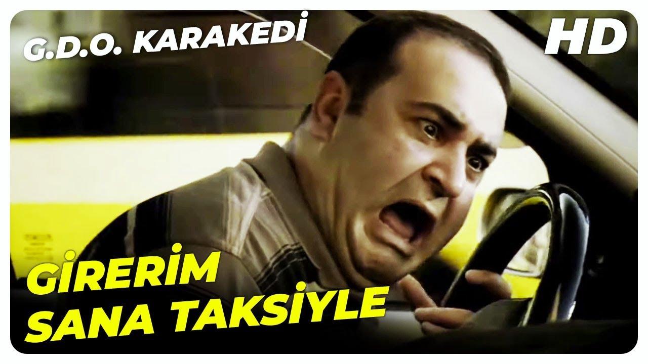 Taksi Sahnesi | G.D.O. Karakedi Şafak Sezer Komedi Filmi