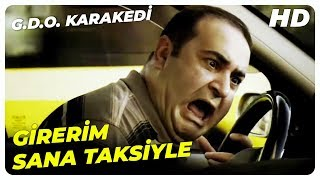 Taksi Sahnesi  G.D.O. Karakedi Şafak Sezer Komedi Filmi
