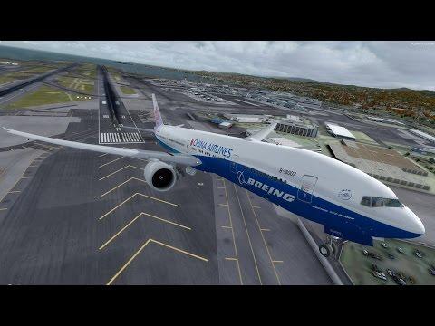 [P3D v3.4] San Fransisco (KSFO) - Taiwan (RCTP) Full Flight | CAL3 PMDG 777-300ER