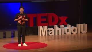 The crash course of how to be a good digital citizenship | พยุงศักดิ์ แก่นจันทร์ | TEDxMahidolU