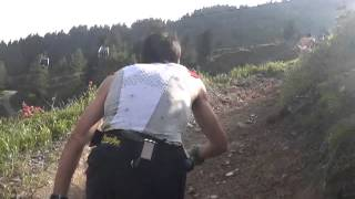 Marathon du mont Blanc 2012: kilian prend le large...