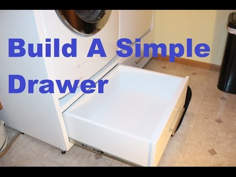 Build A Simple Drawer