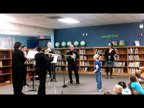 KSO Woodwind Quintet visits North City Elementary School in Athens, TN