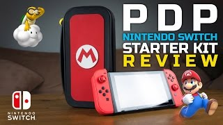 """Is It Super? Mario """"M"""" Edition Nintendo Switch Starter Kit Unboxing + Review"""