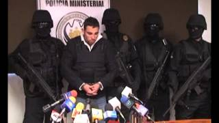 POLICÍA MINISTERIAL PRESENTA A PRESUNTO ASESINO DE LA MAESTRA PERLA VEGA