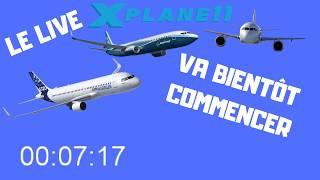 LIVE XP 11 ZURICH-NICE-ROME-PARIS A320 FF A320