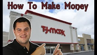 How To MAKE MONEY Selling TJ Maxx YELLOW TAG Items - SECRET TIP INSIDE