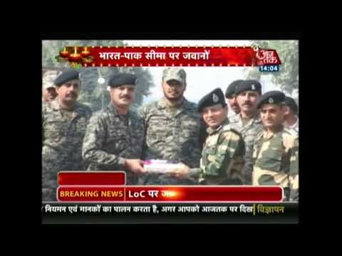 Diwali Special: India-PAK Army Get Together On The Occasion Of Diwali