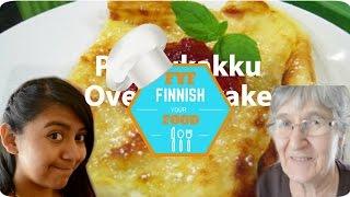 Finnish Oven Pancake/pannukakku