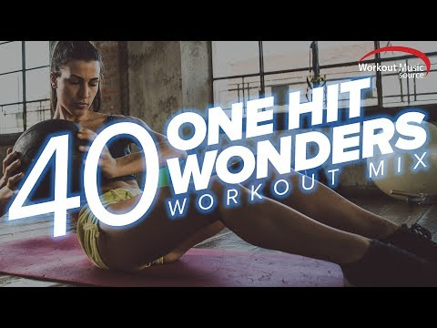 WOMS // 40 One Hit Wonders Workout Remixes (BPM 123-156)