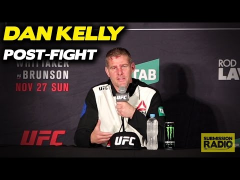 Dan Kelly Post-Fight Reacts to Chris Camozzi Win | UFC Fight Night Melbourne