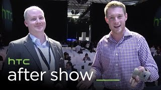 HTC After Show: HTC One M9, HTC Grip, HTC Vive, and more!